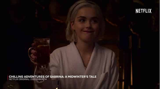 sabrina netflix holiday episode