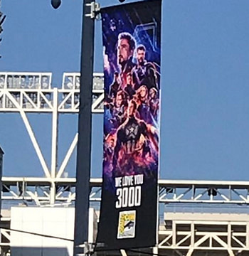 """We Love You 3000"" - San Diego Comic-Con Posters Go Up With Marvel Studios"