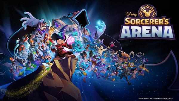 Disney Sorderer's Arena MAin Art