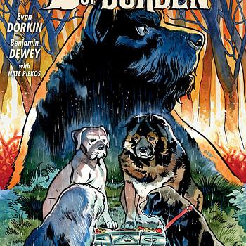 Beasts of Burden: Wise Dogs and Eldritch Men #1 cover by Benjamin Dewey