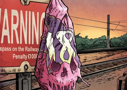 Steve Tanner Creates 'Eighteen' Comic Book To Tie In With the Railway Safety Movie