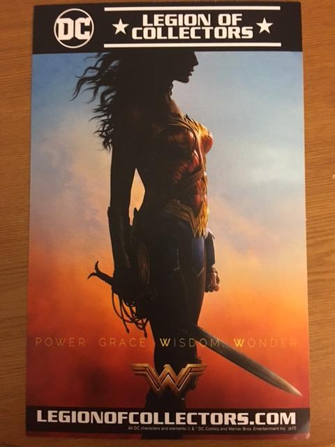 Legion of Collectors Wonder Woman Box Teaser