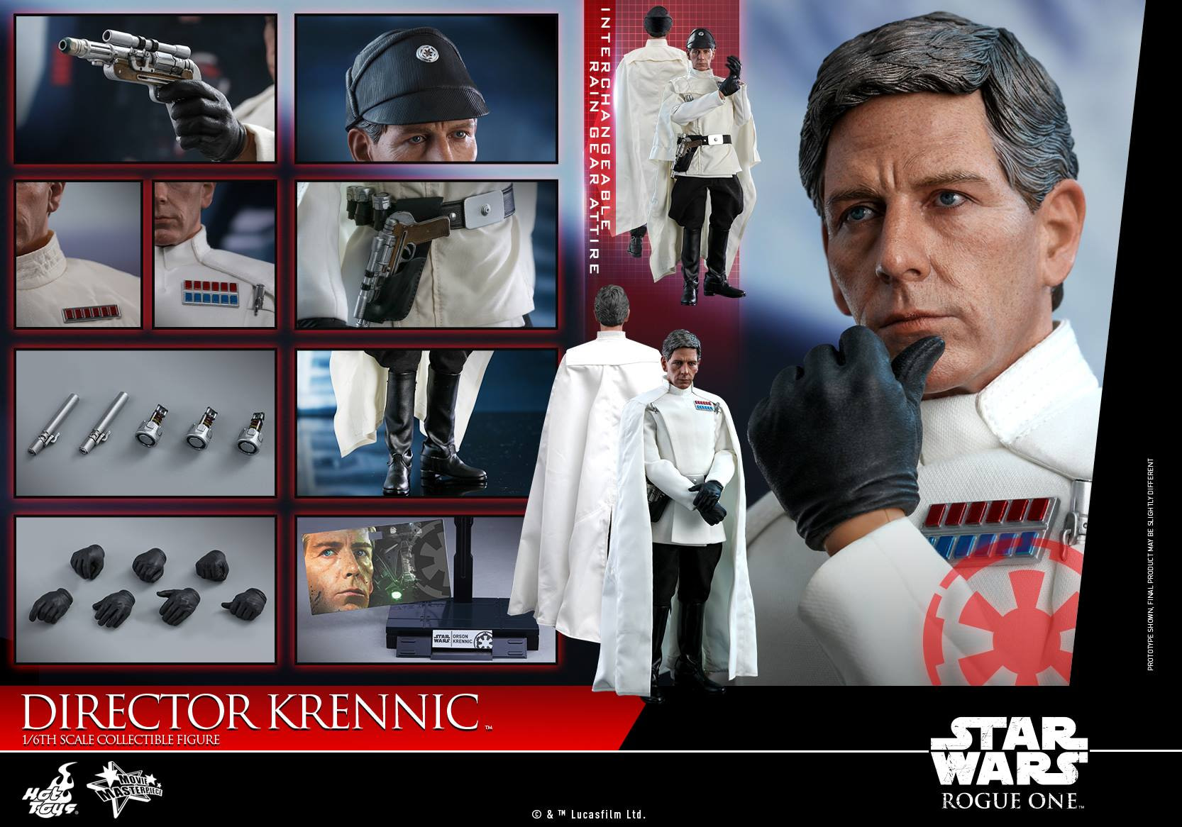 Star Wars Hot Toys Director Krennic 13