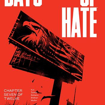 Days of Hate #7 cover by Danijel Zezelj