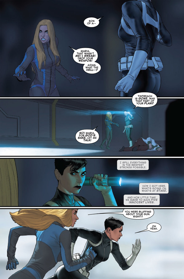 Invisible Woman #5 [Preview]