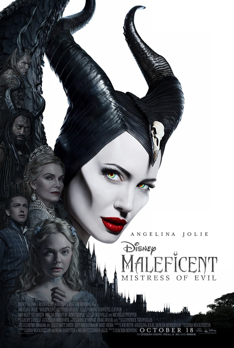 "Disney Has Released a Basic New Poster for ""Maleficent: Mistress of Evil"""