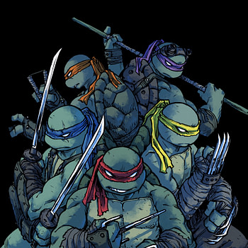 Sophie Campbell Will Bring Mona Lisa to IDW's TMNT Comic