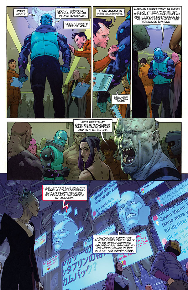 VS #2 art by Esad Ribic and Nic Klein
