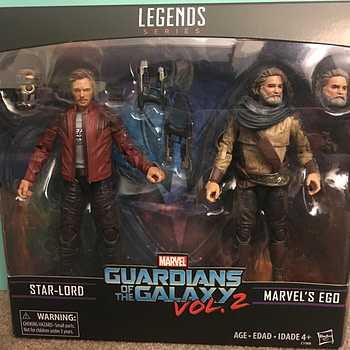 Marvel Legends Star Lord and Ego Two Pack 1