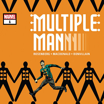Multiple Man #1 cover by Marcos Martin