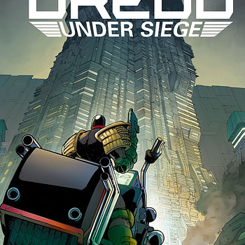 Judge Dredd: Under Siege #1 cover by Max Dunbar and Jose Luis Rio