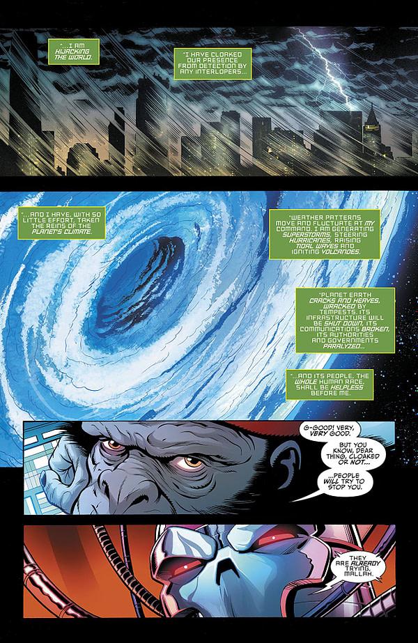 Titans Annual #2 art by Tom Grummett, Cam Smith, Mick Gray, Trevor Scott, and Adriano Lucas