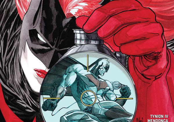 Detective Comics #972 cover by Guillem March