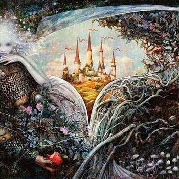 Throne of Eldraine art