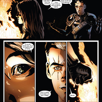 The Do Seem to Be Sticking With the Death of Charles Xavier Over in Fallen Angels and X-Men