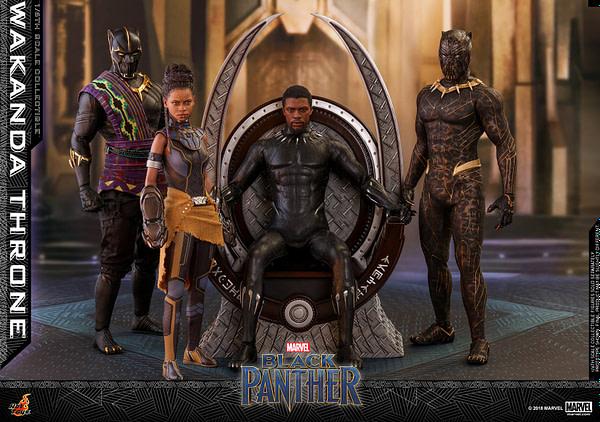 Black Panther Wakanda Throne Hot Toys 1