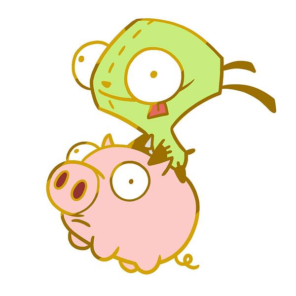 Gir & Pig by Morgan Bell