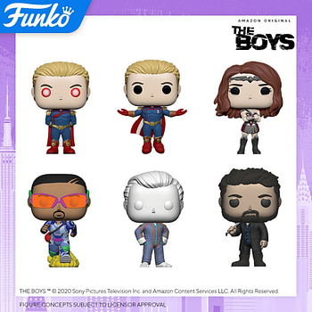 "Funko Pop New York Toy Fair 2020 Reveals - ""The Boys"""