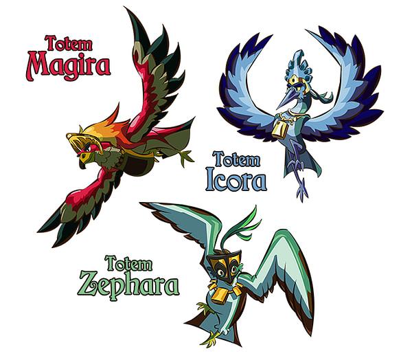 eagle-island-totems