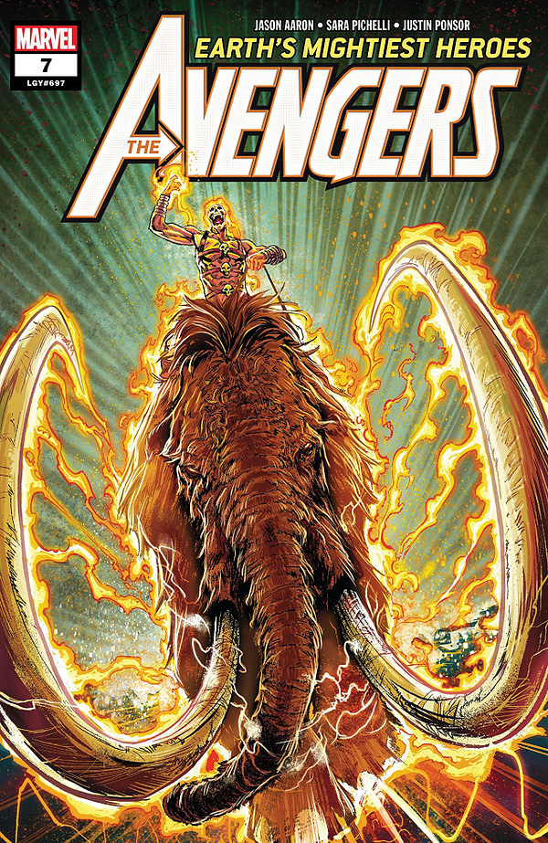 Avengers #7 cover by Geoff Shaw