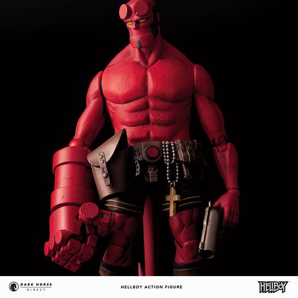 Dark Horse Direct Hellboy Figure 3