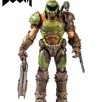 Doom Slayer Figure Fully Revealed by McFarlane Toys