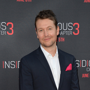 Leigh Whannell at the world premiere of his movie Insidious Chapter 3 at the TCL Chinese Theatre, Hollywood.