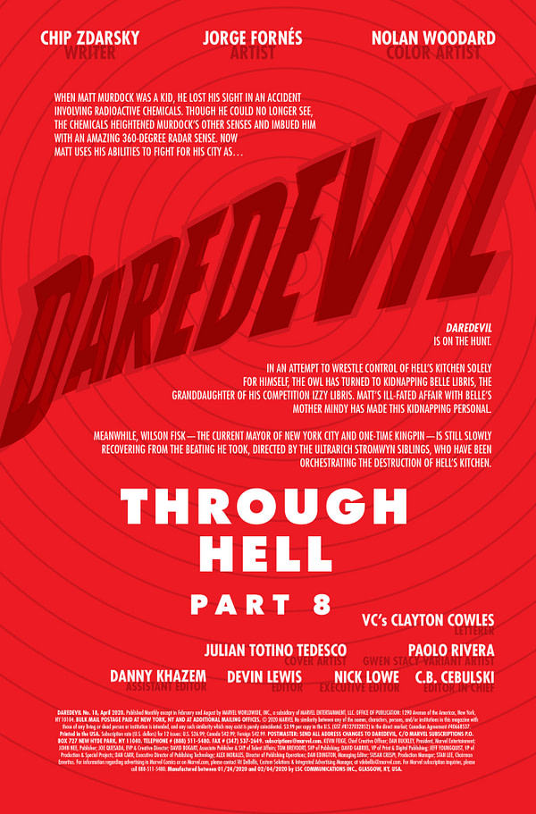 Daredevil #18 [Preview]