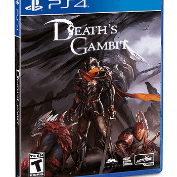 """Skybound Games Releases """"Death's Gambit"""" PS4 Boxed Edition"""