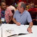 Dave Gibbons at San Diego Comicon 2014