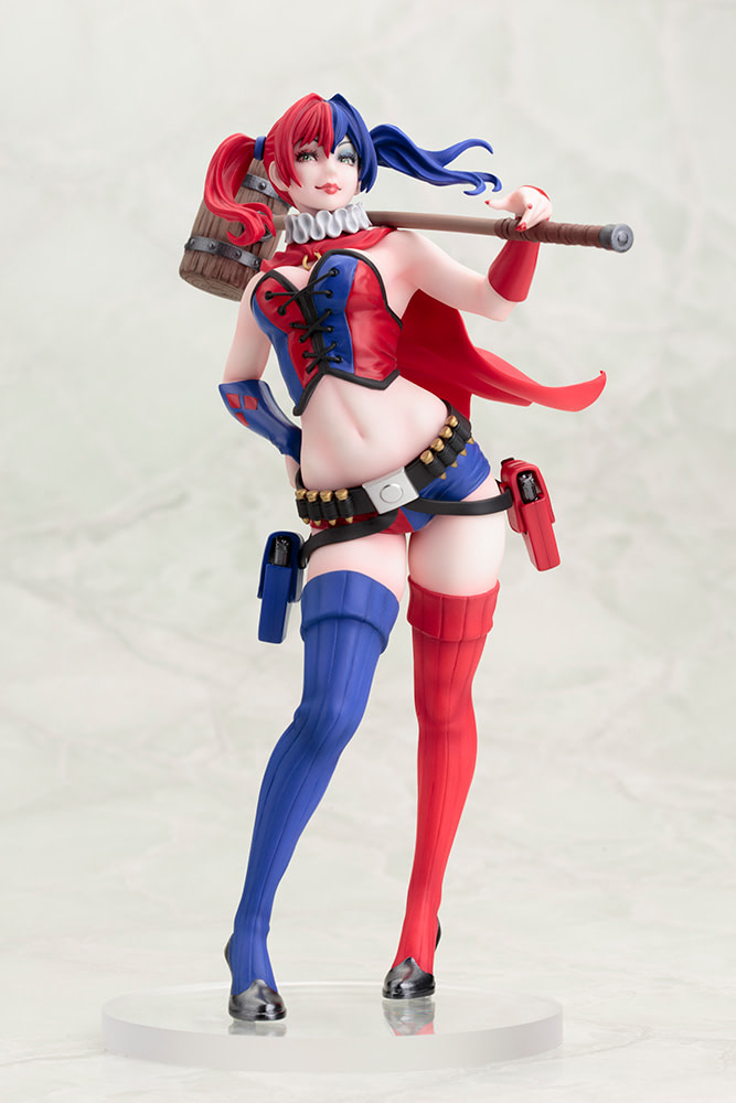 Harley Quinn, and Other Heroines Get 2nd Edition Kotobukiya Statues