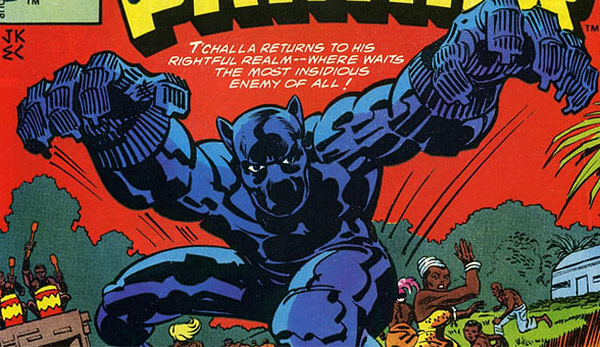 Black Panther by Jack Kirby