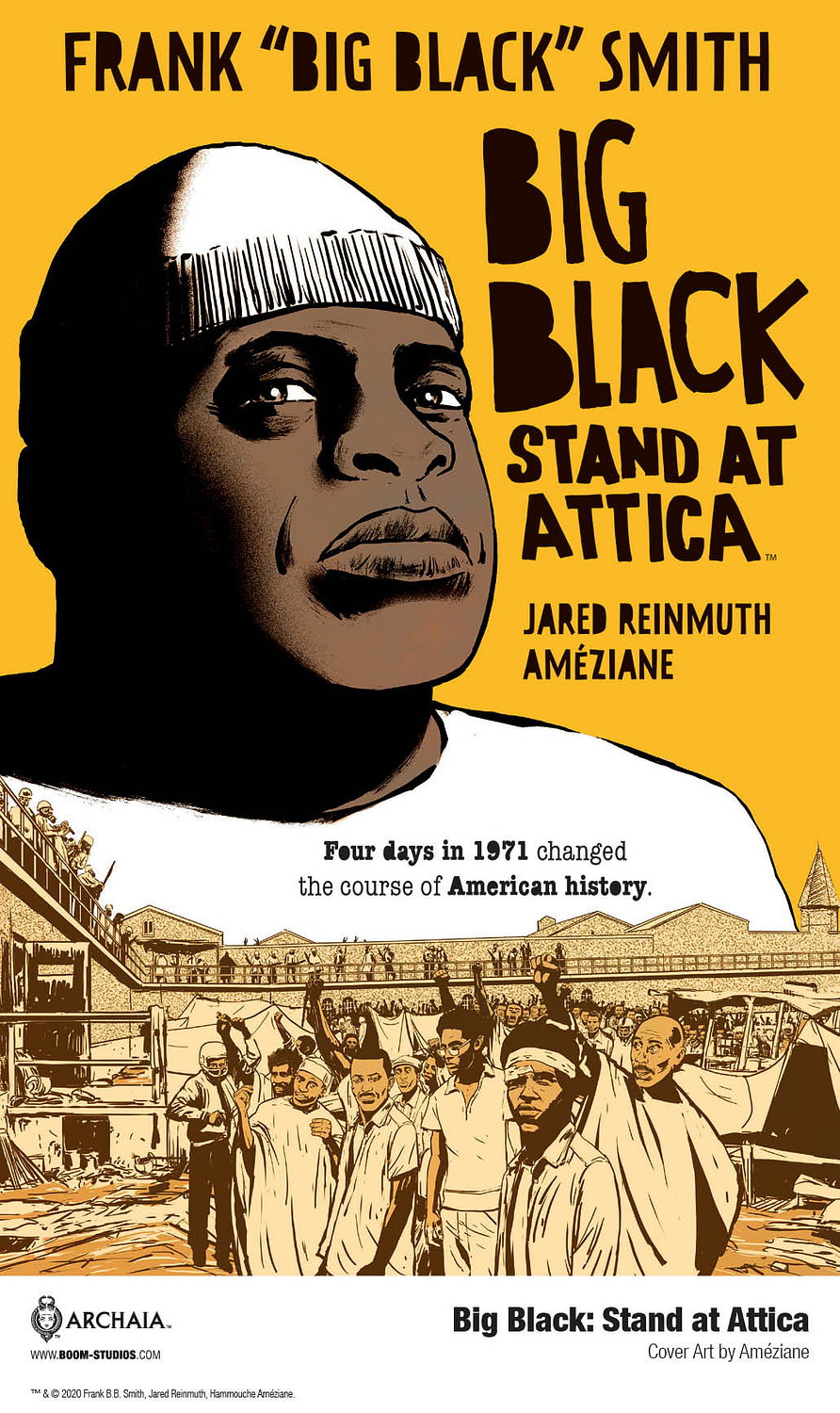 First Look at Big Black: Stand at Attica
