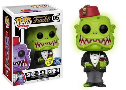 Funko HQ Grand Opening Green Glow In The Dark Sike O Shiner Pop