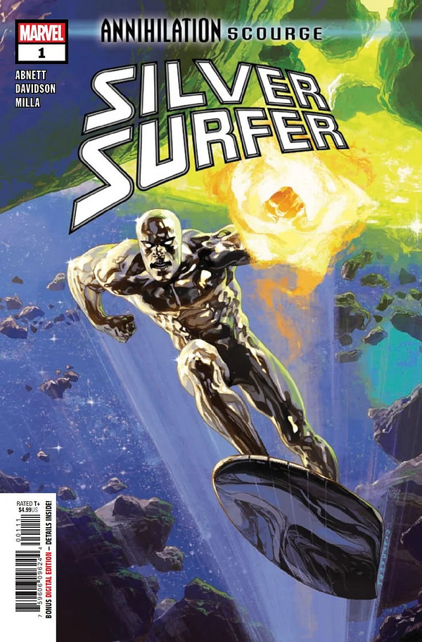 Annihilation Scourge: Silver Surfer #1 [Preview]