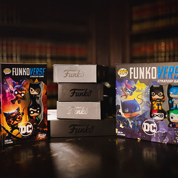 """Funkoverse"" Game Series Launched, Expansions Coming"