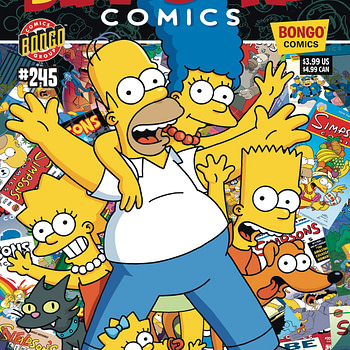 Simpsons comics last issue