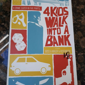 "Universal to Make ""4 Kids Walk Into A Bank"" Movie?"
