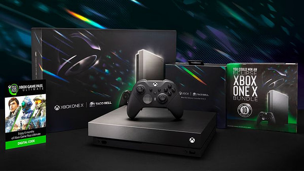 Microsoft & Taco Bell Are Partnering Again To Give Away An Xbox One