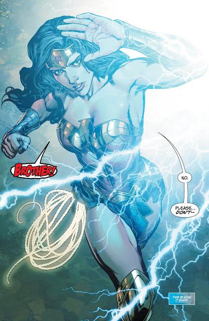 Art from Wonder Woman #31 by Carlo Pagulayan and Romulo Fajardo Jr.