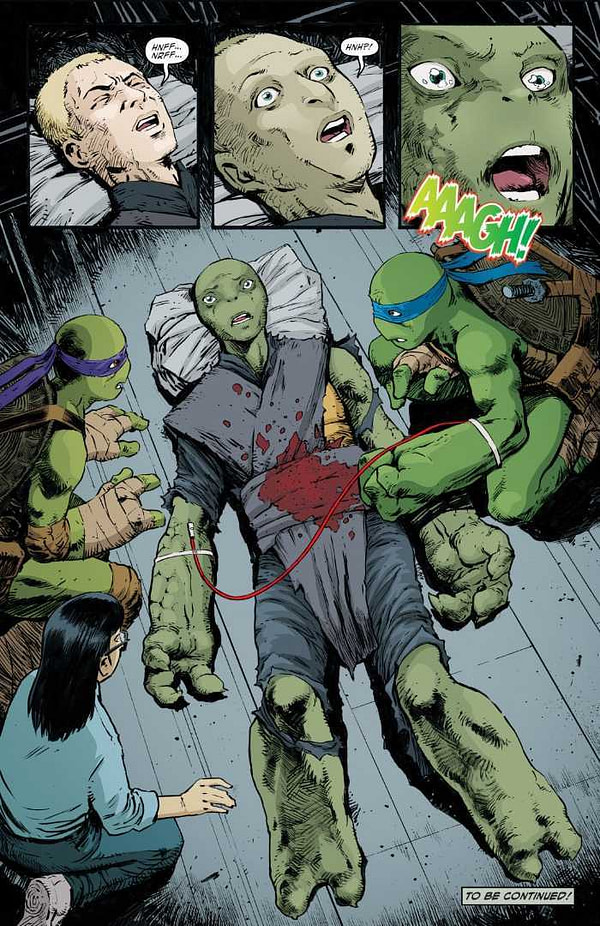 TMNT #95: The First Appearance of a New Female Turtle (SPOILERS)