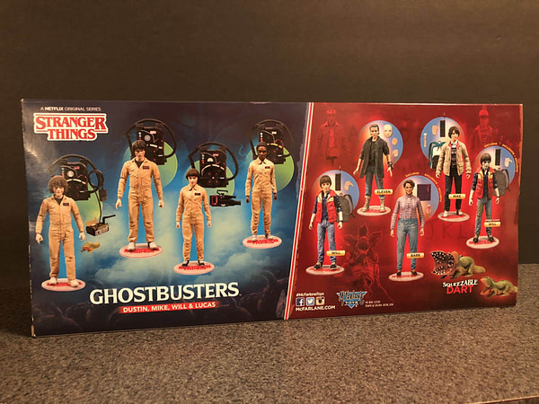 McFarlane Toys Stranger Things Ghostbusters Set 2
