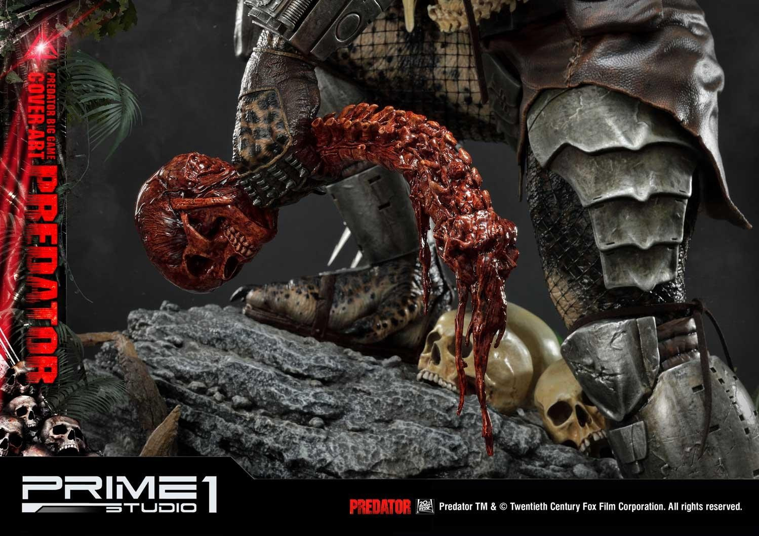 Predator Begins the Hunt with New Prime 1 Studios Statue