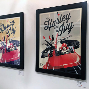 Mondo's Batman: The Animated Series Art Show at SXSW