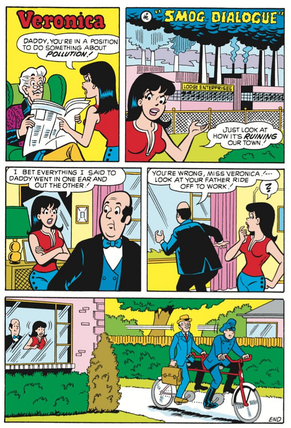Finally, Archie and Jughead Weigh in on Carbon Emissions