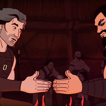 That Time David Benioff, Jason Momoa Played The Slap Game [Video]