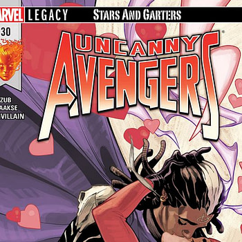 Uncanny Avengers #30 cover by Terry and Rachel Dodson