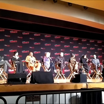 """WATCH: The HBO Watchmen Panel From New York Comic-Con, """"It's My Very, Very Expensive Bit Of Fanfic"""""""