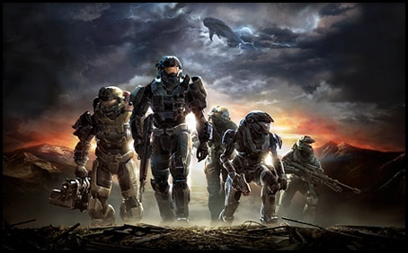 halo series master chief showtime