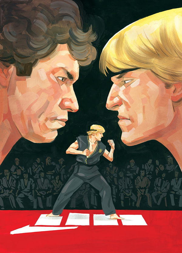 IDW to Sweep the Leg With Cobra Kai Spinoff Comic This Fall
